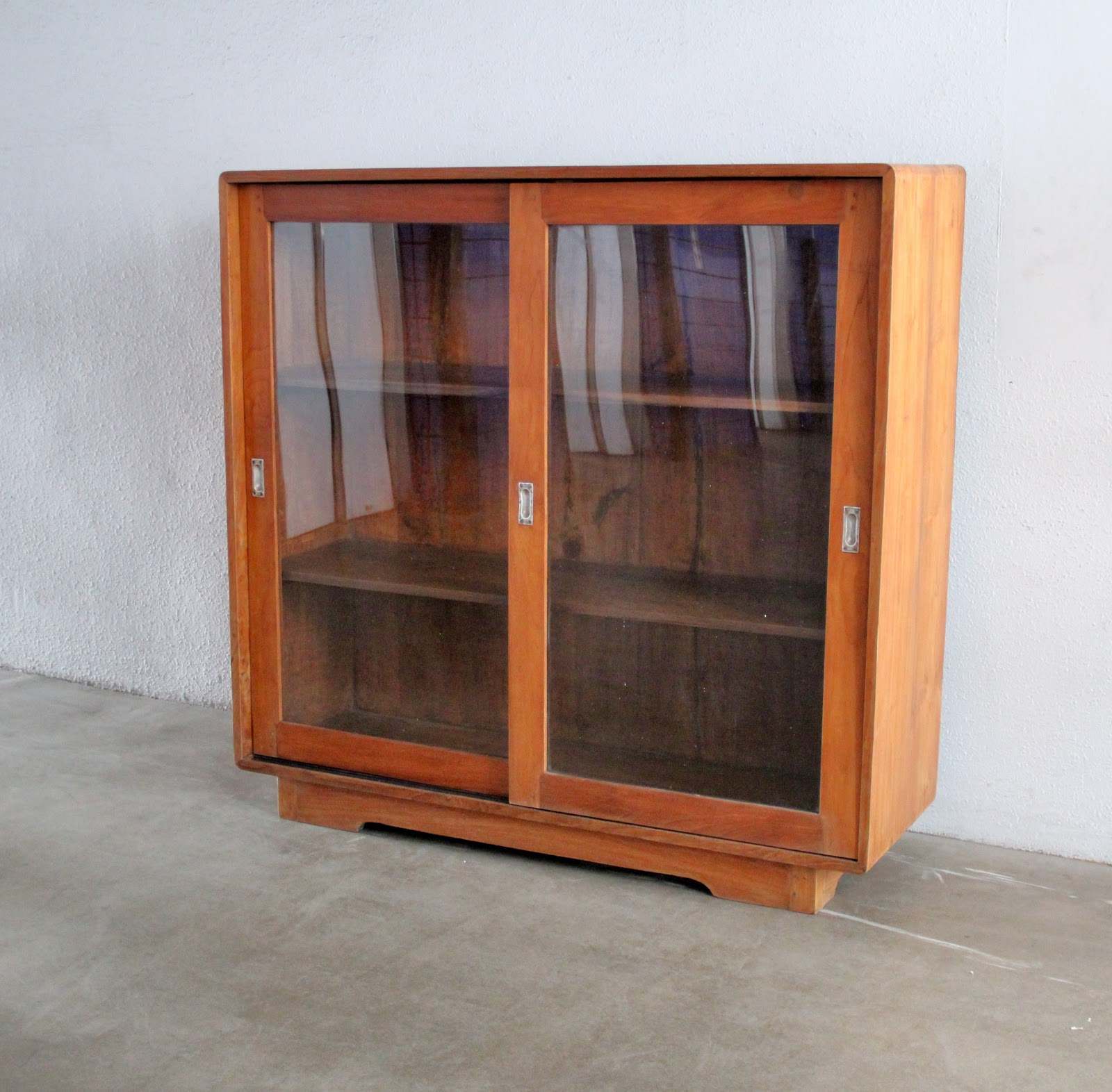 Vintage Sideboard Sliding Doors Vintage Showcases And Display Cabinets Second Charm