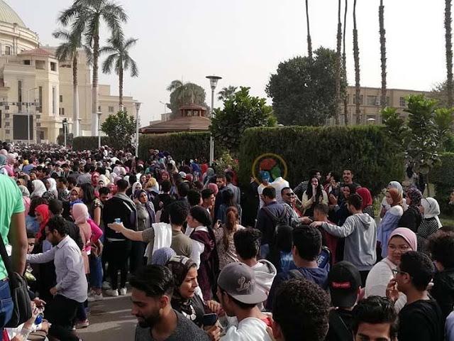 رئيس جامعة القاهرة: إجراءات تنظيمية لتأمين حفل محمد حماقي