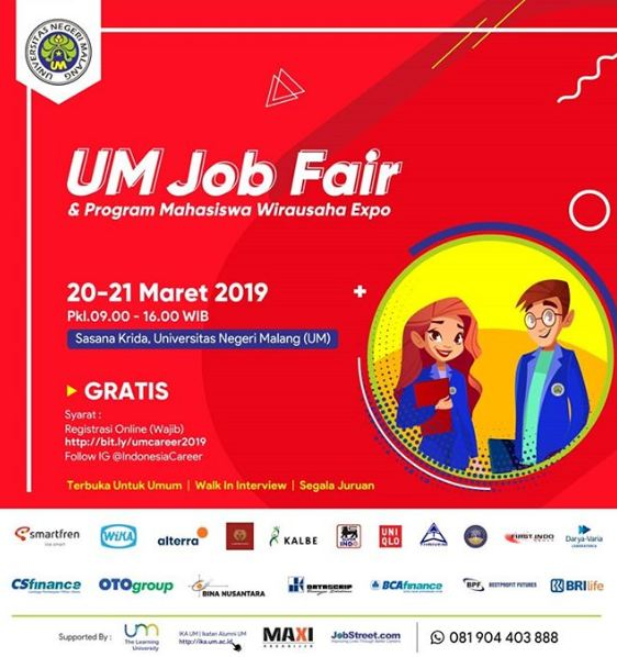 Job Fair Kota Malang 2019