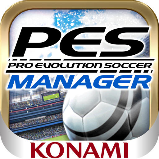 KONAMI PES MANAGER mobile soccer gaming app