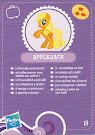 My Little Pony Wave 3 Applejack Blind Bag Card