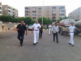 العميد محمد ياسر هو محل ثقه الي اهالي مدينة بدر