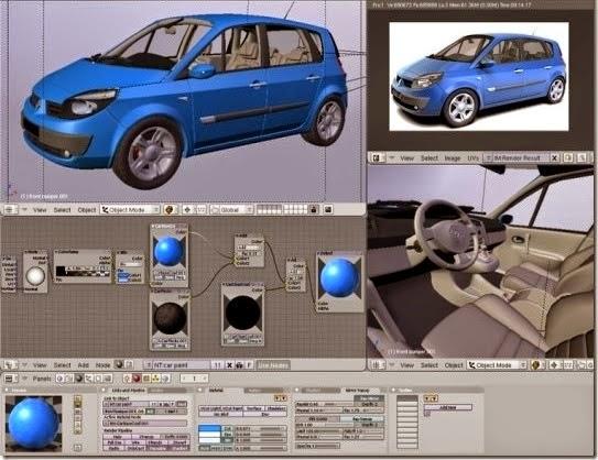 Blender 3D Design
