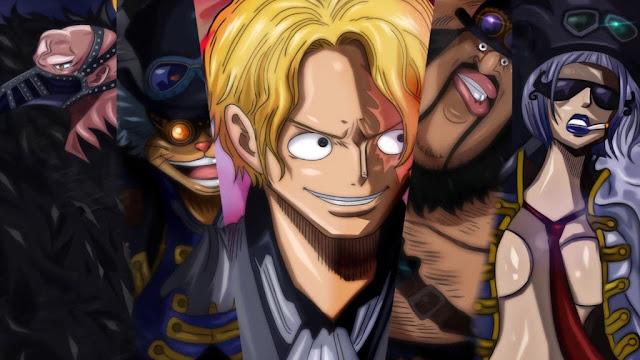 One Piece Episode 880: Kapten Tentara Revolusioner Muncul!