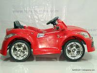 3 Mobil Mainan Aki JUNIOR JB28 Audi - 2 Kursi