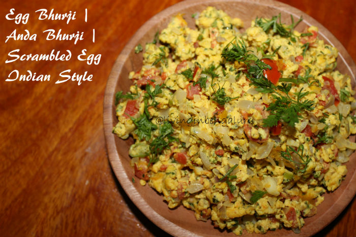 Scrambled Egg Indian Style