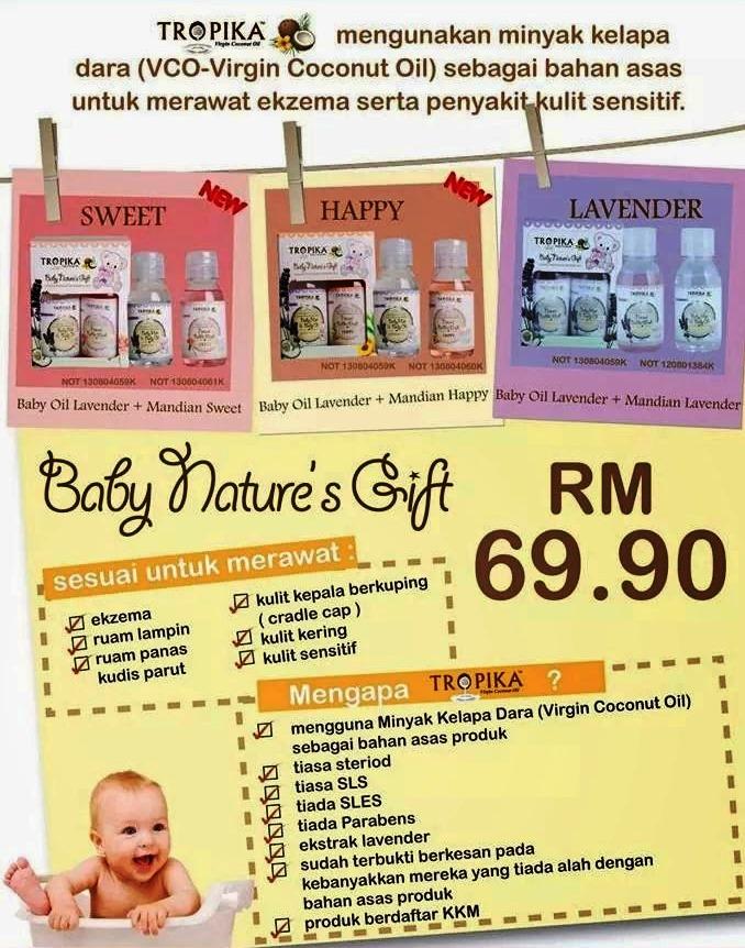 Baby Nature's Gift Tropika ~ Tropika Beauty Online - Pusat ...