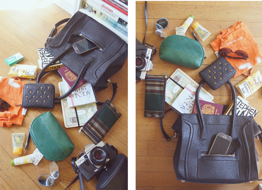 what's in my bag céline