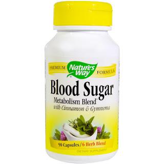 كبسولات التحكم بسكر الدم بالاعشاب من نيشورز واي