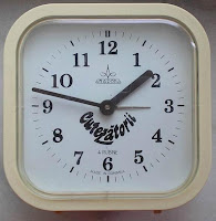 ceas cutezatorii revista clock collection colectie