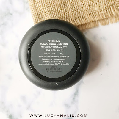 April Skin Black Magic Snow Cushion review