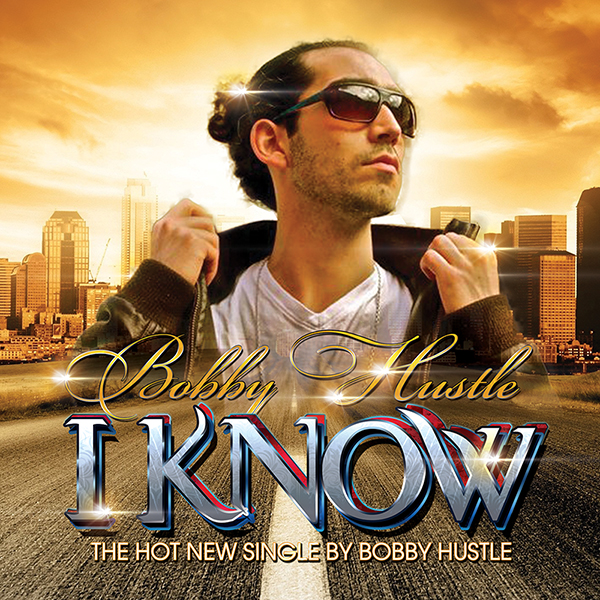 Bobby Hustle I Know Album Cover Design Artwork Alternate 1