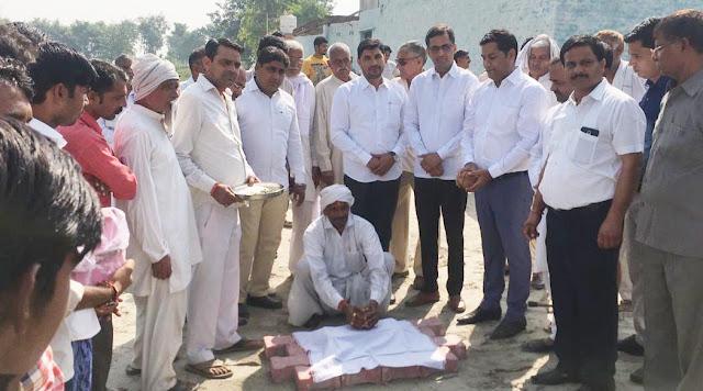 Poorani Bhupani will be built at a cost of Rs 28 lakh; Senior Deputy Mayor Devendra Chaudhary