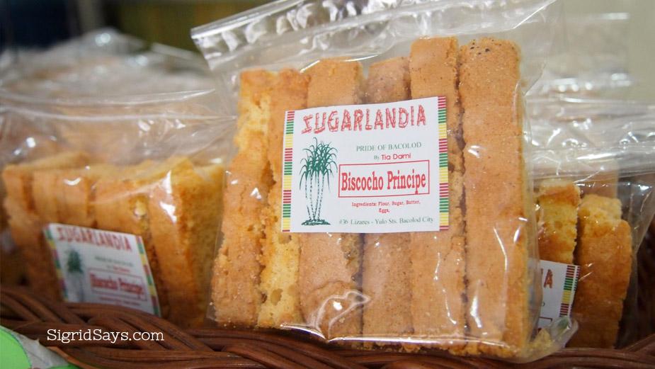 Sugarlandia biscocho, Bacolod pasalubong