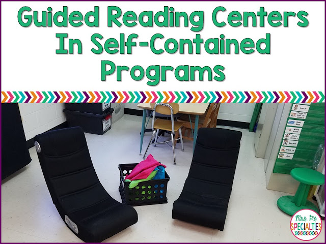 When you read about guided reading centers and all of the wonderful learning that goes on in them your teacher heart automatically starts screaming YES!! But... then you think about how it would look if your students were at the centers. You might get discouraged, but it CAN be done!! Here are some tips on how to make it work...