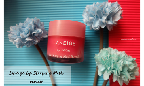 Laneige Lip Sleeping Mask Review : LIP MASK TERFAVORIT!