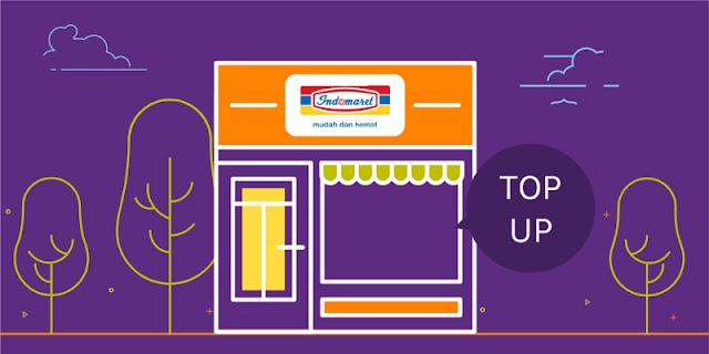 Cara Deposit Via Indomaret/Alfamart dengan TCASH