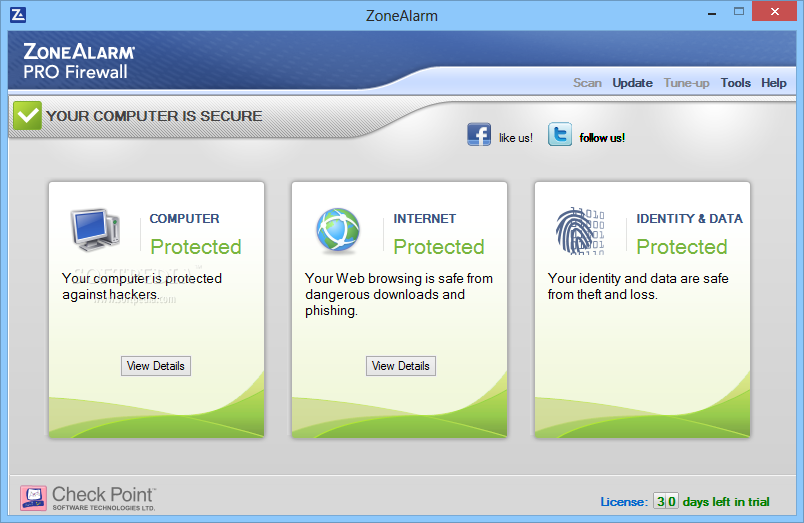 download zonealarm full