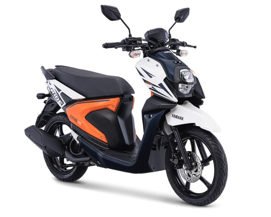 All New Yamaha X-Ride 125 Freedom White