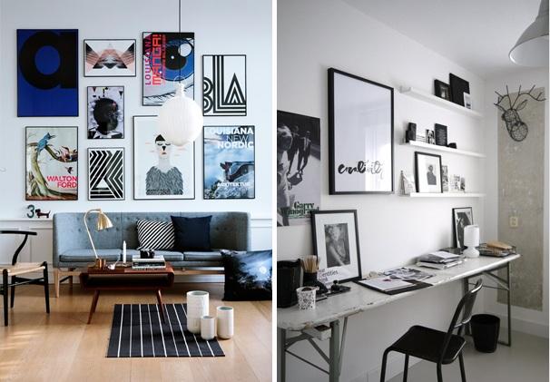 Paredes decoradas com estilo decor alternativa - Placas decorativas para pared interior ...