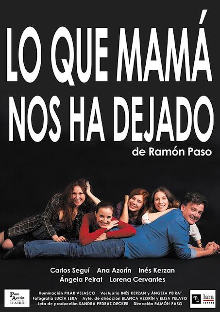 LO QUE MAMÁ NOS HA DEJADO: ¿UNA FAMILIA…?