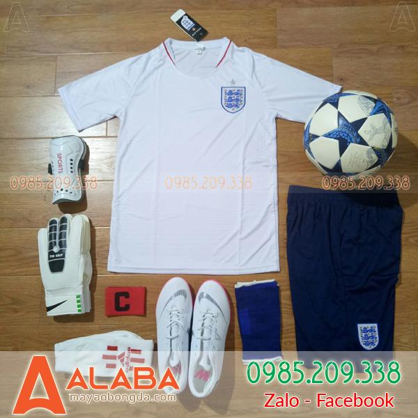 Áo bóng đá đội tuyển Anh 2019 sân khách màu trắng