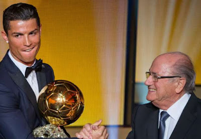 Sepp Blatter claims footballs culture to blame for Ronaldo