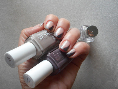 Essie Master Plan and Smokin Hot