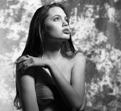 Young Angelina Jolie Bold Photo