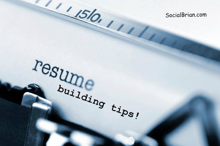 Building Resume Tips. Tips For Making A Great Resume Template 2015