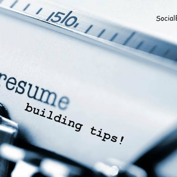 Resume Building Tips Socialbrian - building my resume