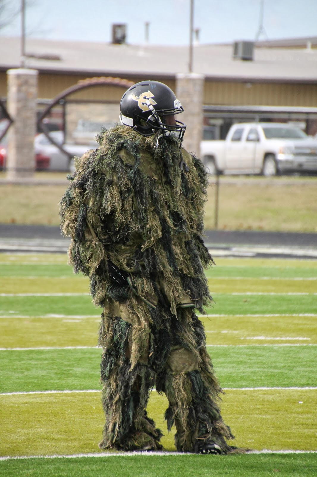 Where is Waldo? & Golden Demon Football: Halloween Costume Practice