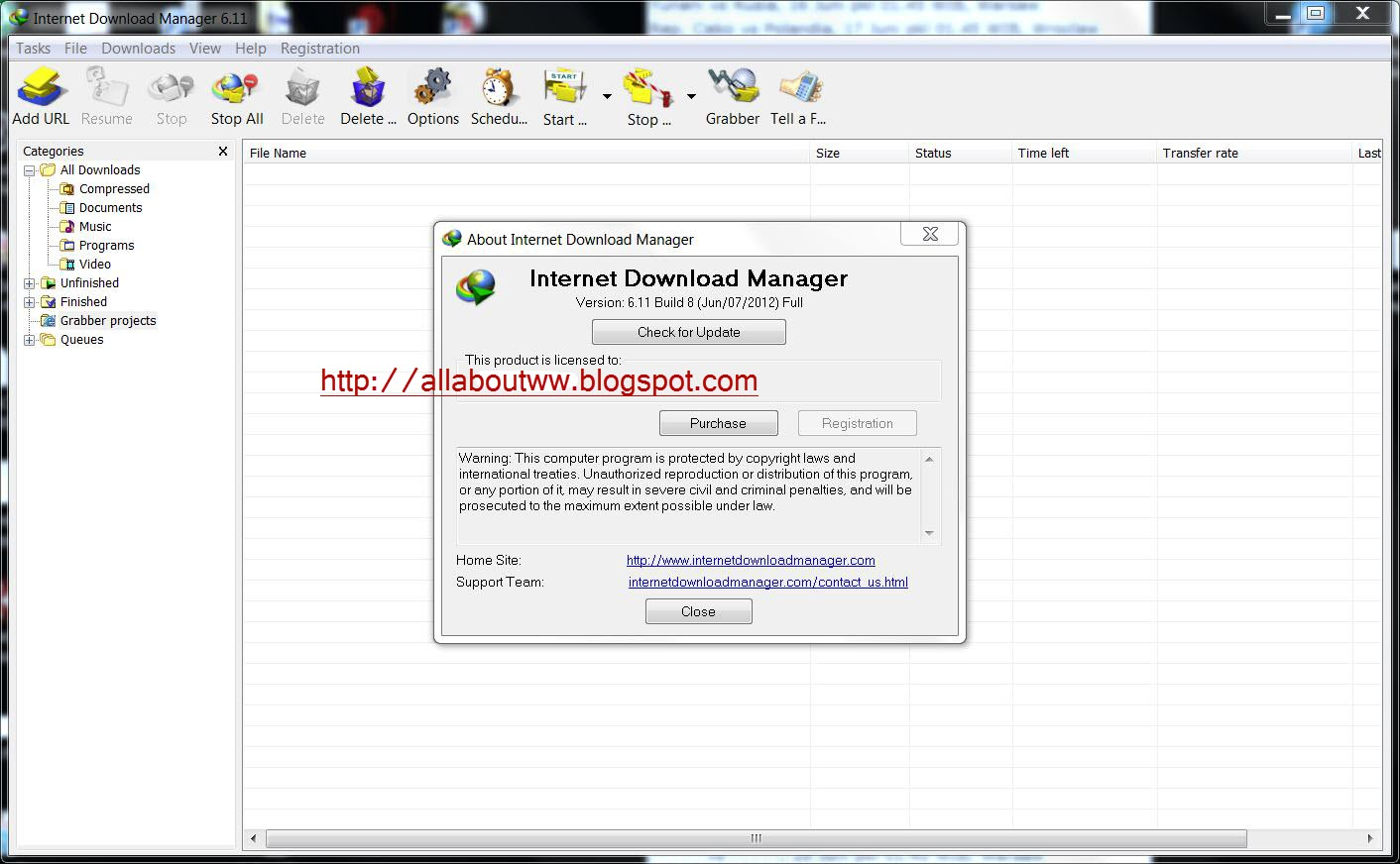 all about ww  internet download manager 6 11 build 8   crack