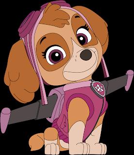 Skye 2 Patrulha Canina Vetor Grátis Paw Patrol Free Vector Download