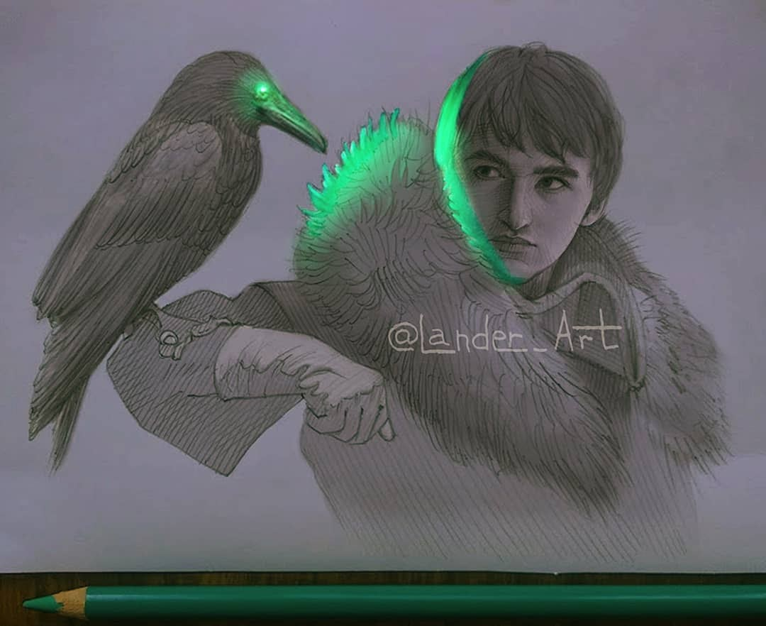06-Brandon-GoT-Isaac-Hempstead-Wright-Chertkova-Lena-Game-of-Thrones-Glowing-Sketches-www-designstack-co