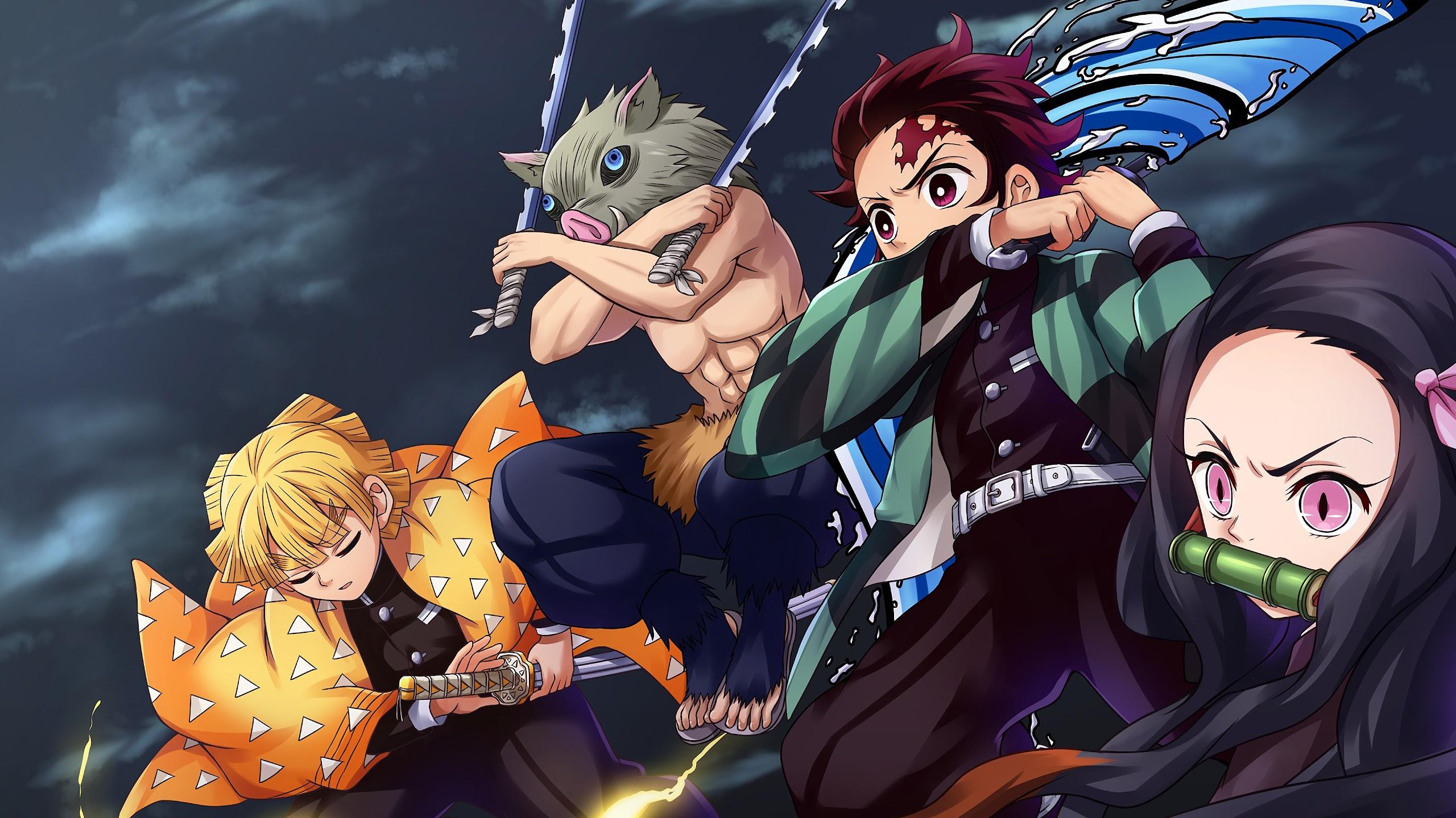 Anime Wallpaper 4k Kimetsu No Yaiba Anime Wallpapers