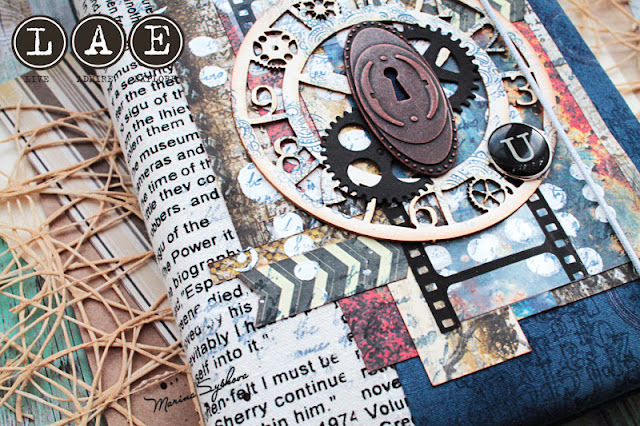 @marinasyskova #notebook #scrap #scrapbooking #steampunk