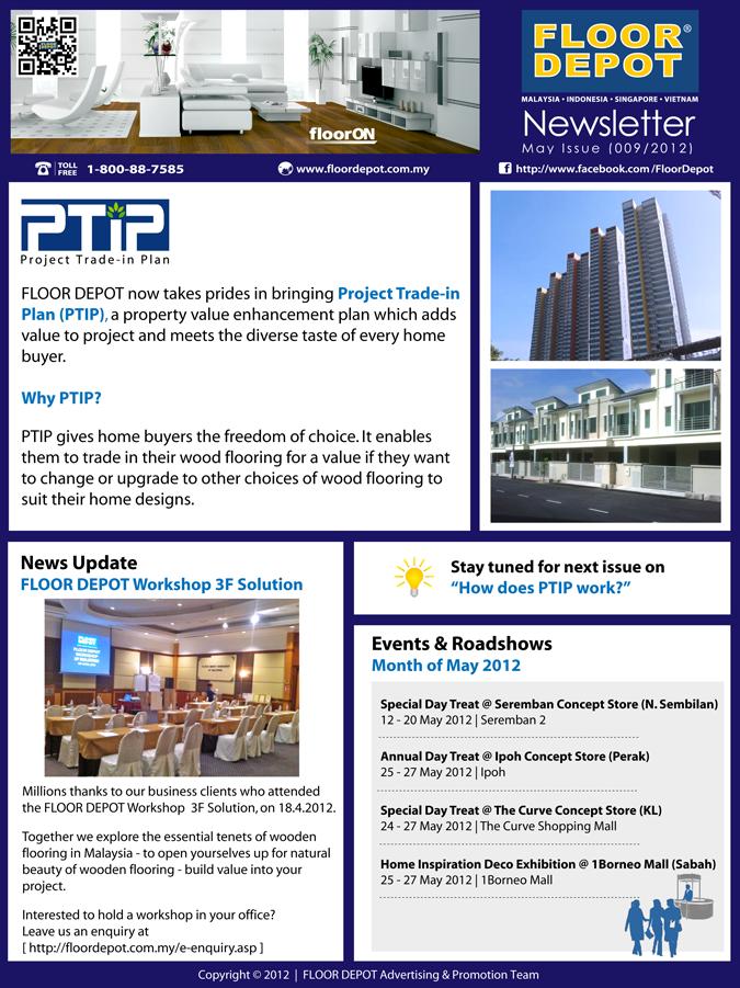 Floor Depot Group Of Companies Floor Depot May Newsletter 2012