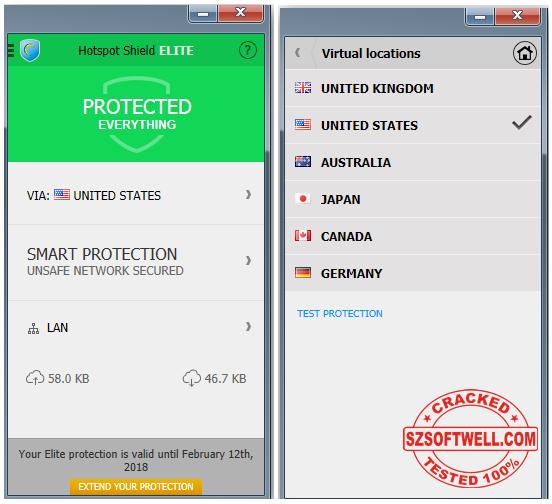 Hotspot Shield 4 08 Elite + Universal Crack Download - All