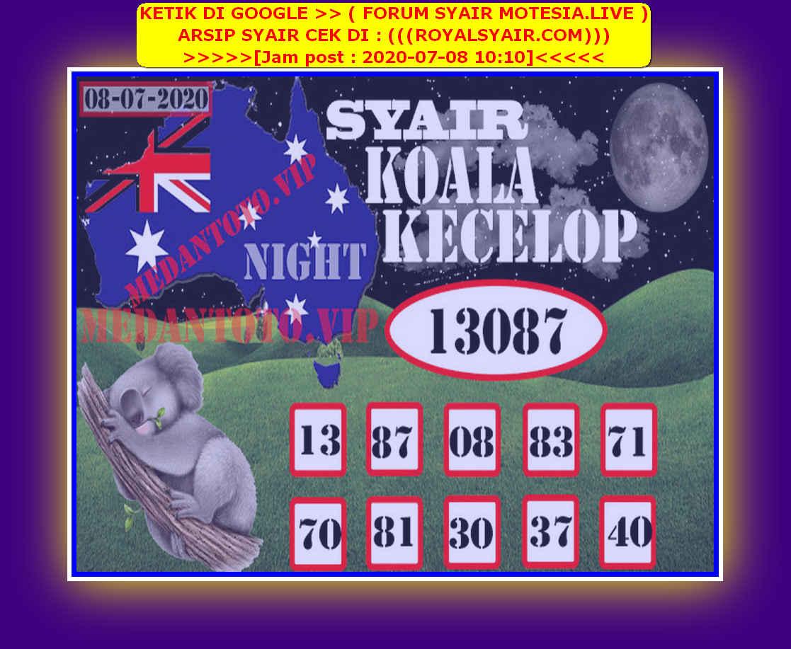 Kode syair Sydney Rabu 8 Juli 2020 110