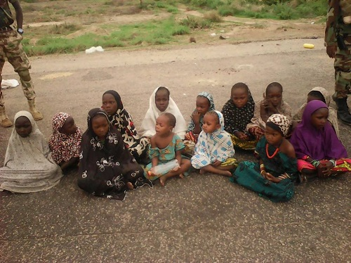 Boko Haram Spy From Niger Republic Arrested, 77 Others Surrender, 236 Hostages Rescued By troop, View Photos