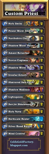 Hearthstone Priest Deck Build