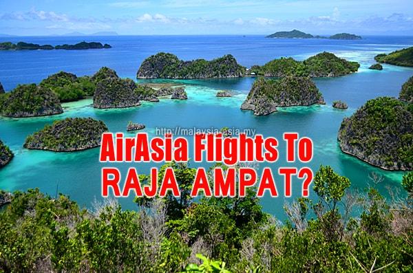 Raja Ampat AirAsia Flights