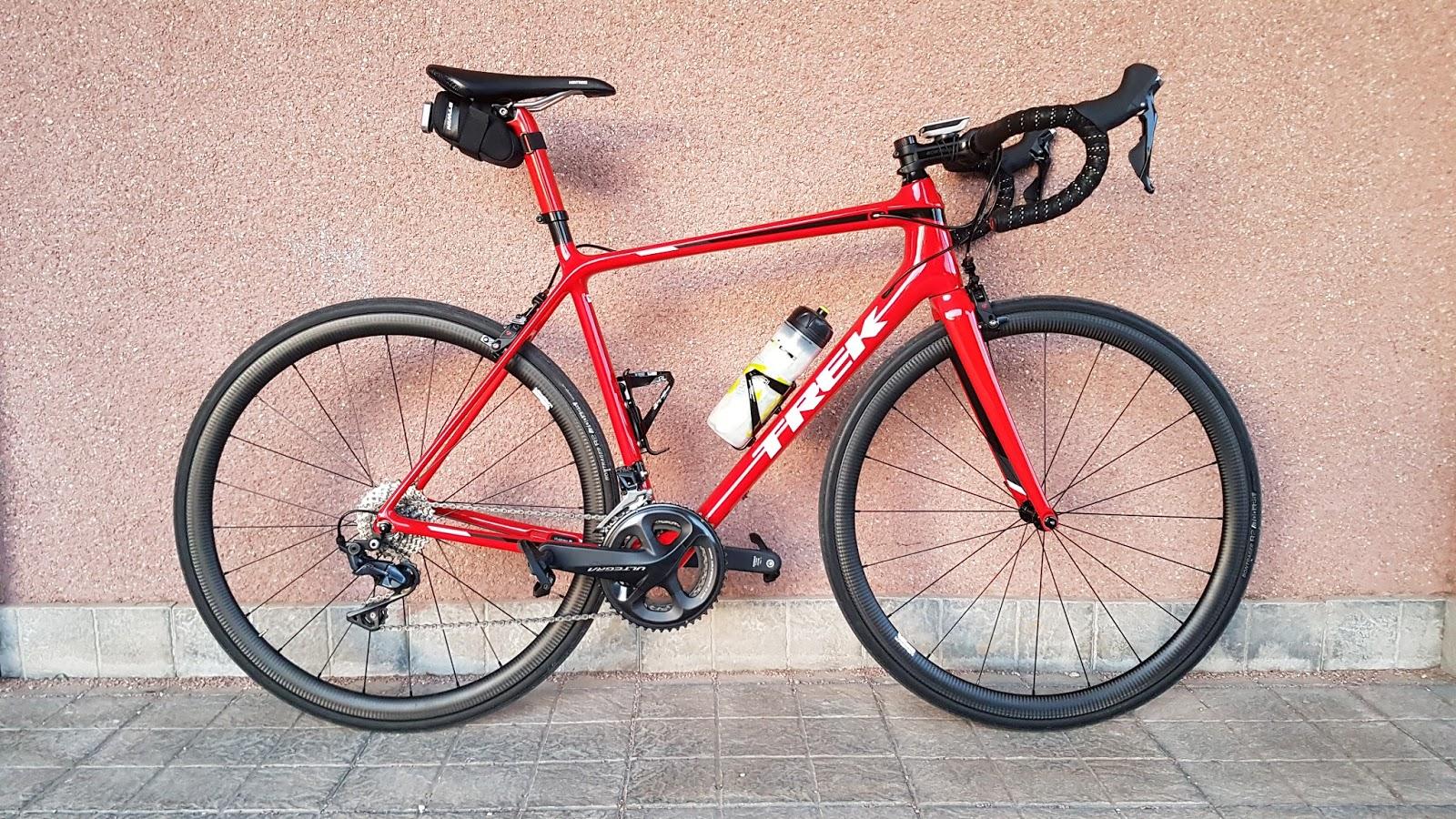 CYCLING ADVENTURER: Material: TREK EMONDA SL6