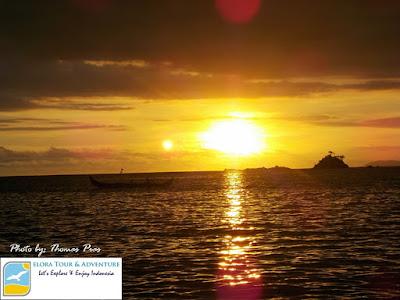 Kilau Sunset Teluk Kiluan