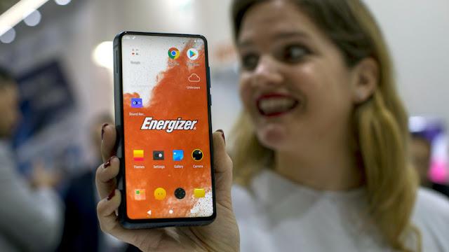 """Energizer presenta el 'smartphone' con la """"batería más grande del mercado"""""""