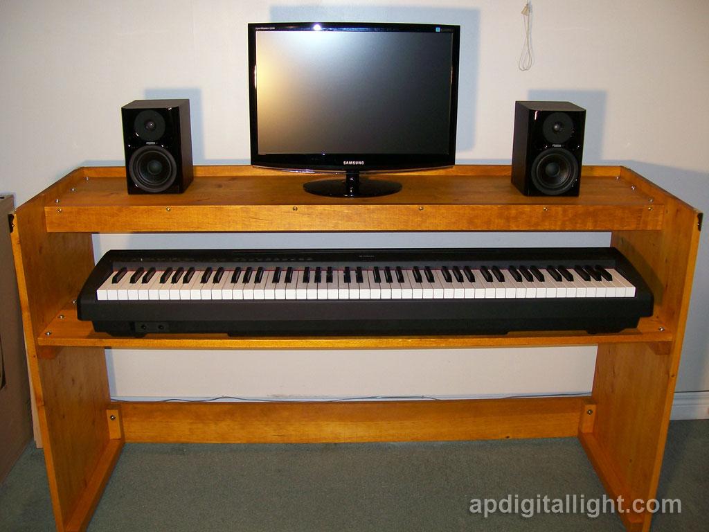 Ap Digital Light Diy Digital Piano Stand