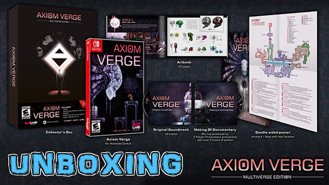 Unboxing Axiom Verge Multiverse Edition