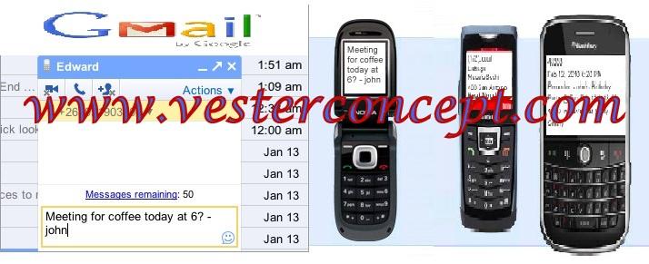 SEND FREE SMS TO MOBILE PHONE NUMBERS USING YOUR GMAIL