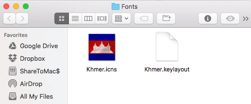 khmer unicode keyboard layout for mac osx